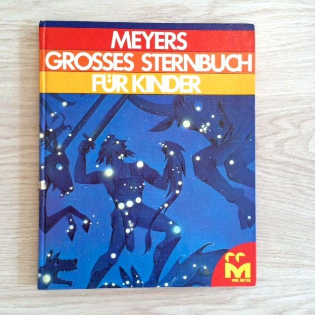 Meyers großes Sternenbuch für Kinder, 1981, Cover