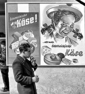 Schnappschuss von der Wiener Messe im Jahr 1964. (© Helmut J. Pillwein Privatarchiv)