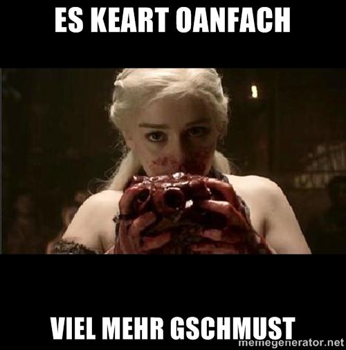 Von Herzen, Deine Khaleesi!