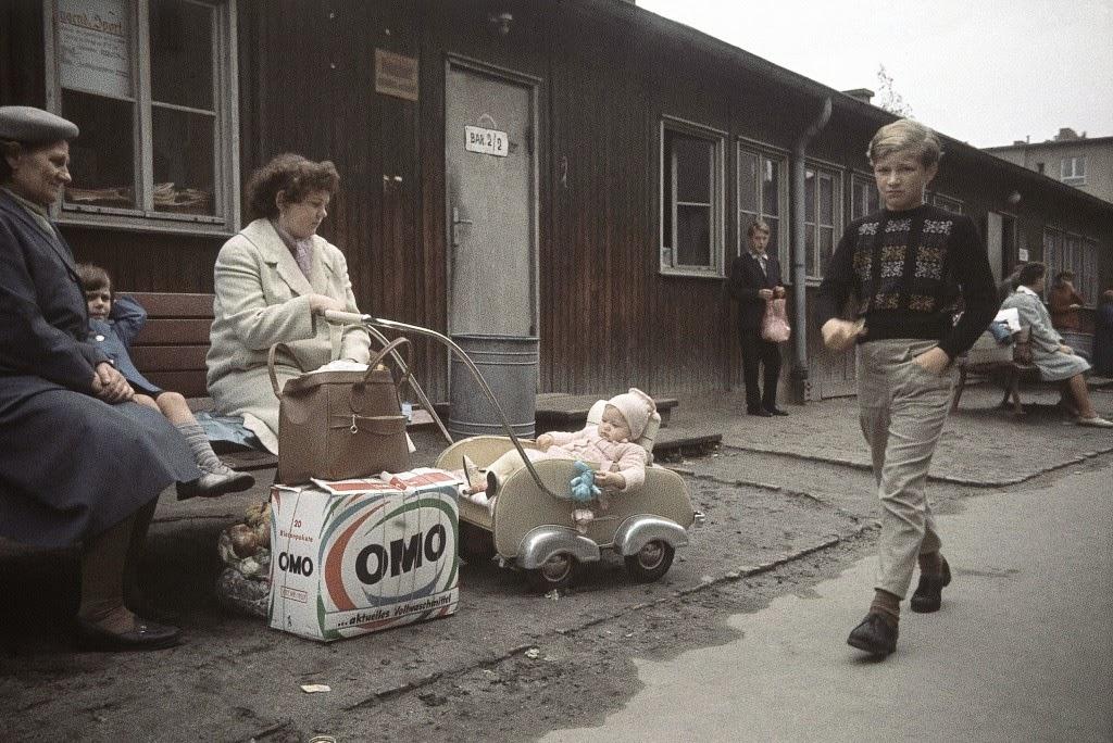 Flüchtlingslager Marienfelde, Berlin, 1961