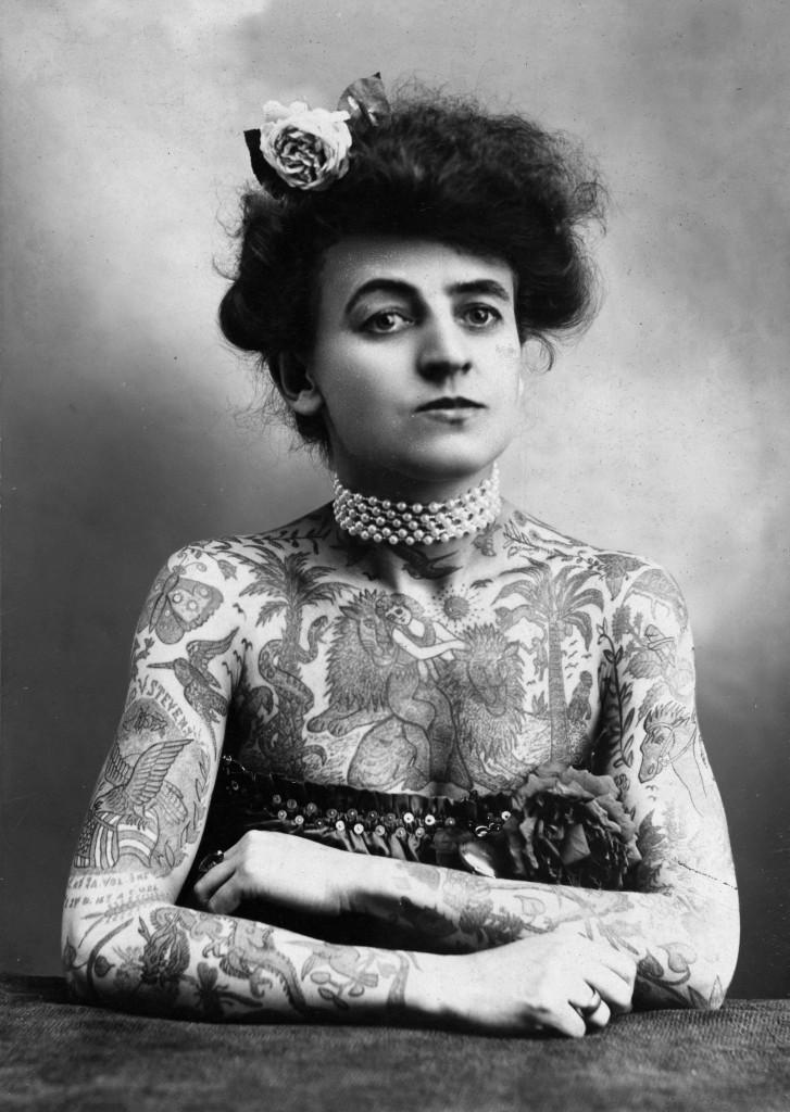 Maud Wagner, Tattookünstlerin
