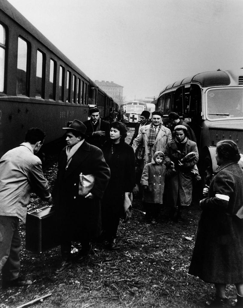 Ungarn-Flüchtlinge 1956