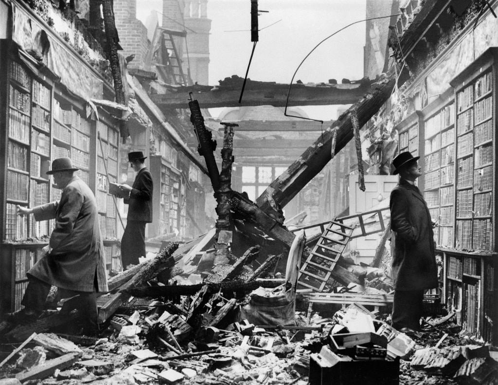 Holland House Bücherei, London, 1940