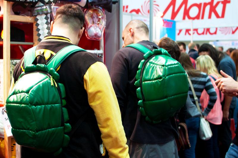 Vienna ComicCon 2015. Moi, lieb - die Ninja Turtles!