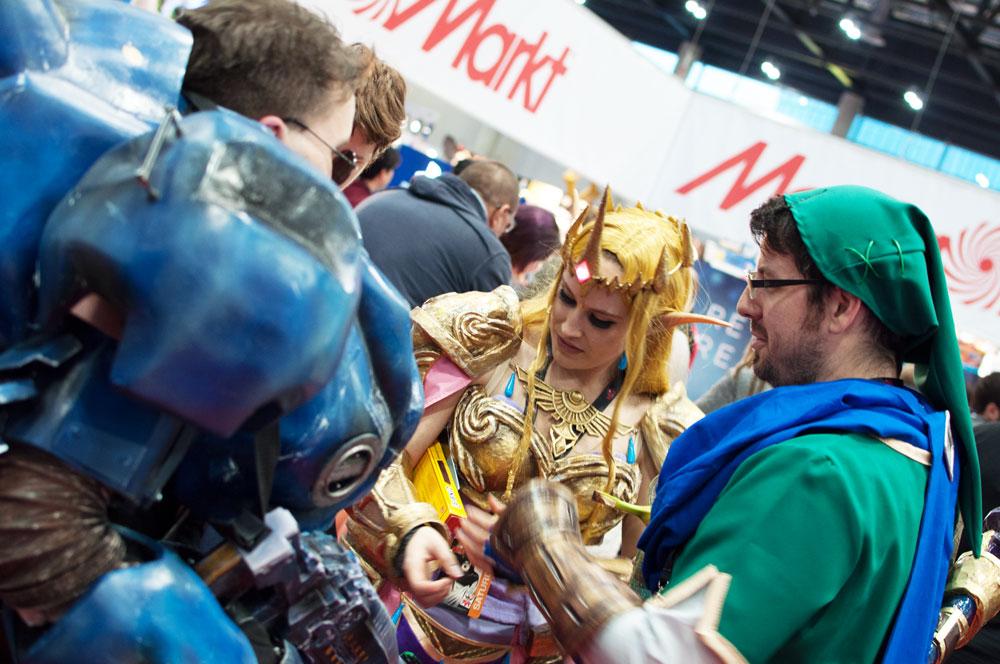 Vienna ComicCon 2015. Zelda und Co.