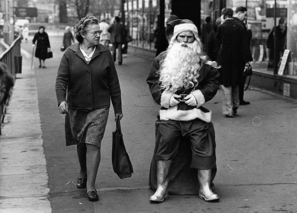 Skeptical Santa