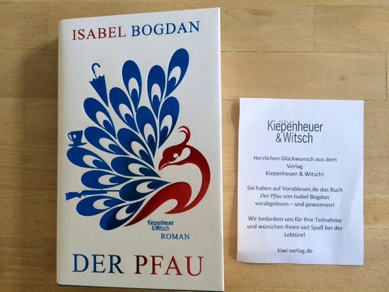 Gewonnen! Danke, vorablesen.de und Kiepenheuer&Witsch.
