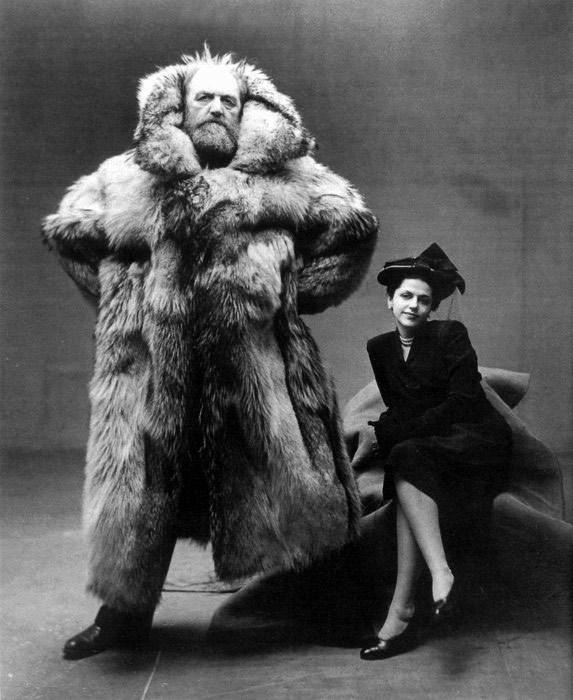 Peter and Dagmar Freuchen, © Irving Penn 1947
