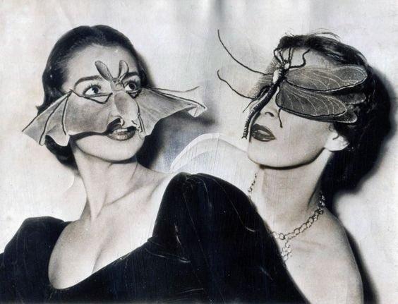 Masken von Fernand Aubry