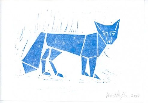 Be Creative 2014: Meet the Blue Fox! © Ines Häufler, 2014